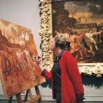 Sandrine REY. National Gallery London 2015.
